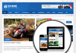 [j25] Template joomla ZT News  quickstart Cực đẹp cho trang tin tức