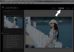 Hướng dẫn sử dụng Preset vào phần mềm Lightroom