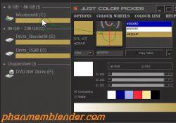 Phần mềm lấy mã màu ở bất kỳ đâu trên máy tính rất gọn nhẹ ColorPic