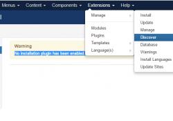 Fix lỗi mất plugin install khi update joomla lên phiên bản 3.6