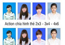 Action chia hình thẻ 2×3 – 3×4 – 4×6 trong photoshop