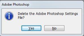 thiet lap gia tri mac dinh photoshop
