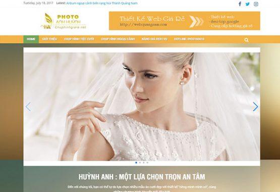 Mẫu web áo cưới AC01