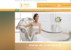 Theme wordpress wedding thích hợp cho web áo cưới và web công ty