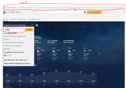 widget hiển thi thời tiết cho wordpress