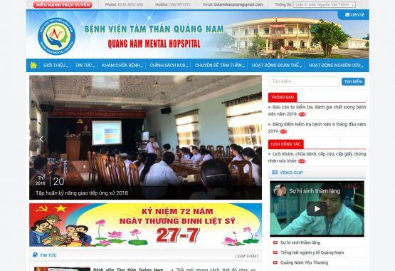 Mẫu web bệnh viện