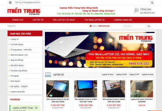 Website miền trung computer