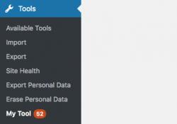 3 cách để thêm số lượng thông báo vào menu quản trị, Notification Counter Bubbles to WordPress
